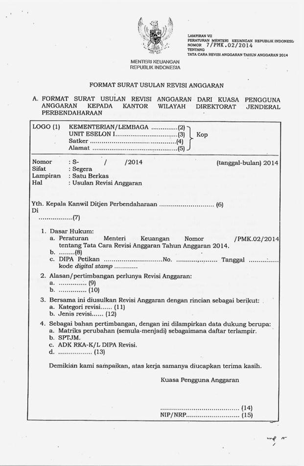 Revisi Dipa Djpb Direktorat Jenderal Perbendaharaan